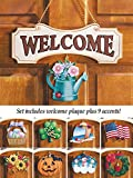 Seasonal Welcome Sign, 10Pc