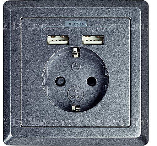 schuko-enchufe-con-2-x-usb-puerto-de-carga-max-21-a-similar-grafito-gris