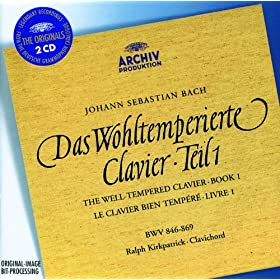 J.S. Bach: The Well-tempered Clavier, Book I (2 CDs)