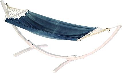 Jobek 11195 TRES ARC SET JEANS, FSC certificado soporte de madera blanco hamaca Miss Brasil jeans con palo de madera