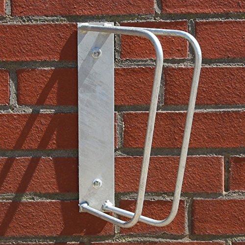 Videx-Einzel-Fahrradstnder-Wandmontage-feuerverzinkt-45-Winkel-zur-Wand