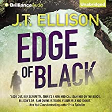 Edge of Black: Sam Owens, Book 2 Audiobook by J. T. Ellison Narrated by Joyce Bean