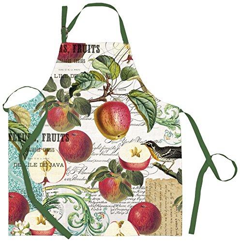 Michel Design Works Michel Design Works Sweet Apple Cotton Chef Apron, Multicolor