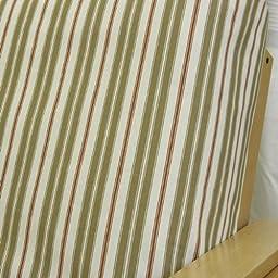 Hampton Stripe Rust Futon Cover Full 162