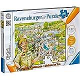 Ravensburger 00524 - TipToi: Erleben Zoo-Puzzle