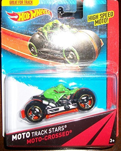 Hot Wheels Moto Track Stars MOTO-CROSSED