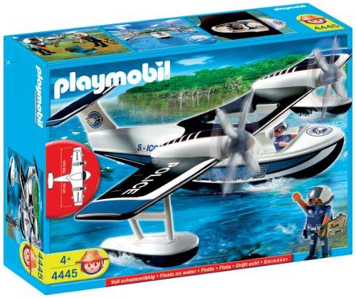 playmobil-4445-policiers-et-hydravion