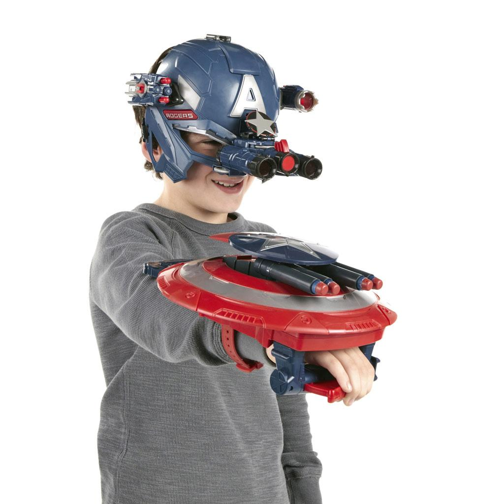 Amazon.com: Captain America Marvel Super Soldier Gear Stealthfire