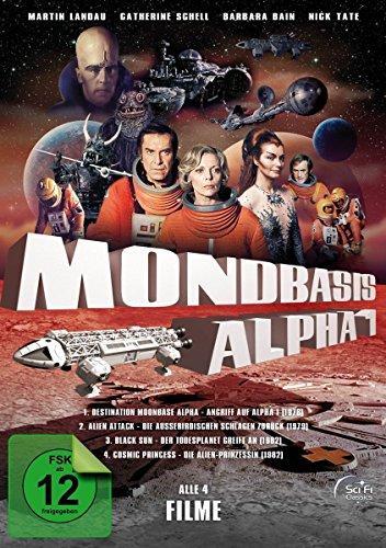 Mondbasis Alpha 1 - Die Spielfilme-Box (Alle 4 Spielfilme zur Serie) [4 DVDs]