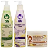 Afro Love Shampoo & Conditioner + Hair Souffle 16oz