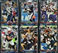 New England Patriots 2015 Topps NFL Football Complete Regular Issue 17 Card Team Set Including Tom Brady, Rob Gronkowski, Julian Edelman Plus