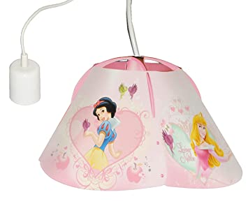 deckenlampe disney princess prinzessin h ngelampe f r kinder kinderzimmer kinderlampe. Black Bedroom Furniture Sets. Home Design Ideas