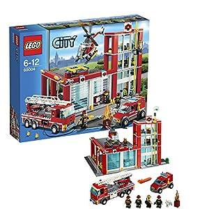 Lego City - 60004 - Jeu de Construction - La Caserne des Pompiers
