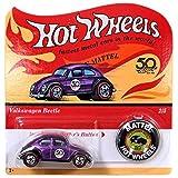 Hot Wheels 2018 50th Anniversary Originals 2/5 - Volkswagen Beetle (Purple) with Button