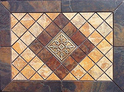 African slate ceramic tile