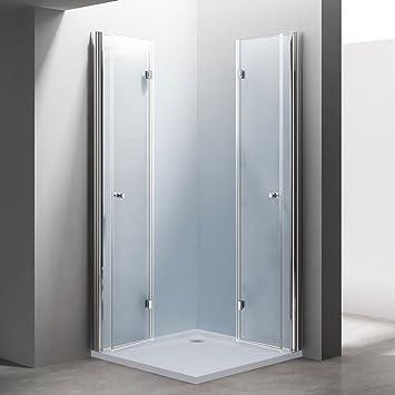 paroi pare douche porte de de douche cabine de douche rabattable verre verre de s curit. Black Bedroom Furniture Sets. Home Design Ideas