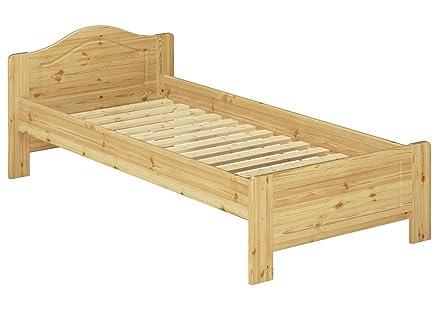 60.37-09 letto in legno di pino 90x200 cm