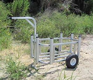 Fishing Cart w Standard Wheels Made in USA!
