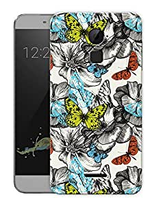 """Humor Gang Butterfly PatternPrinted Designer Mobile Back Cover For """"Coolpad Note 3"""" (3D, Matte, Premium Quality Snap On Case)..."""