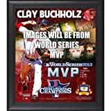 Boston Red Sox 2013 MLB World Series Champions Framed MVP 15'' x 17'' Collage with Game-Used Baseball