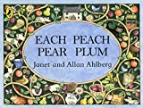 Each Peach Pear Plum (Picture Puffin) (0140509194) by Ahlberg, Janet