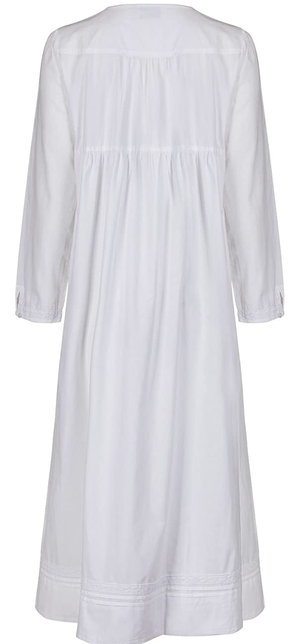 The 1 for U 100% Cotton Nightgown Vintage Design with Pockets - Victoria 1