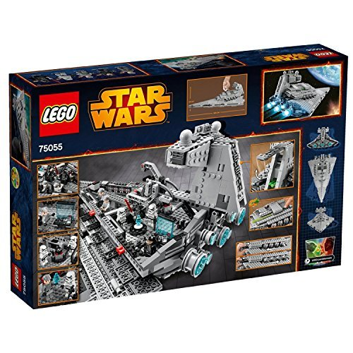 LEGO Star Wars Imperial Star Destroyer Includes 6 minifigues by LEGO