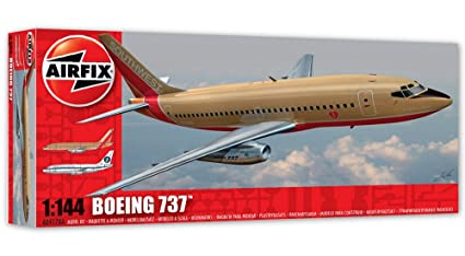 Airfix - Ai04178a - Maquette - Aviation - Boeing 737-100 - Echelle 1/144