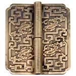 Four Dragons Hinges 3-1/2'' - Set of 2