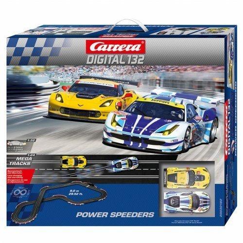 Carrera(R) Digital 132 Power Speeders Slot Racing by Carrera USA