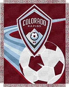 Northwest Colorado Rapids MLS Triple Woven Jacquard Throw (48x60)... by Northwest Enterprises