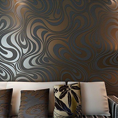 Hanmero 3d dise o papel pintado moderno con dibujos de - Papel pintado moderno ...