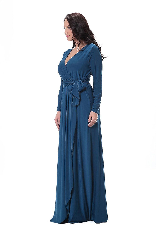Womdee Kleid mit Ärmeln