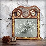 Store Indya Vintage Floral Pattern Rectangle Wooden Photo Picture Frame Home Decor Accessories