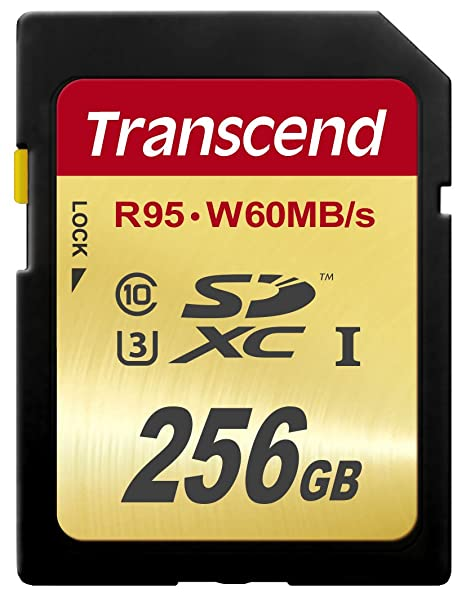 Transcend SDXCカード 256GB UHS-I U3対応 (最大読込速度95MB/s,最大書込速度60MB/s) U3シリーズ 4K動画撮影 無期限保証 TS256GSDU3