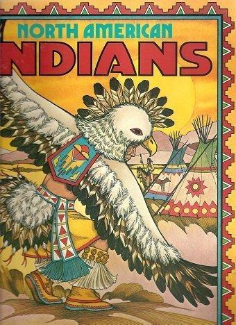 North American Indians Coloring Album (Troubador)