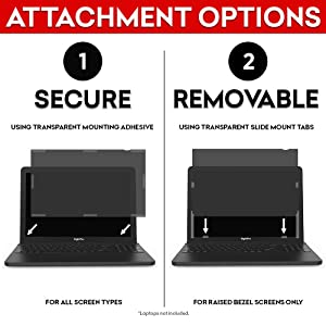 SightPro 14 Inch Laptop Privacy Screen Filter for 16:9 Edge-to-Edge Widescreen Display - Computer Monitor Privacy and Anti-Glare Protector (Color: 14 Inch (Diagonal) - 16:9 Edge-to-Edge Aspect Ratio, Tamaño: 14 Inch (Diagonal)- 16:9 Edge-to-Edge Aspect Ratio)