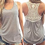 Amlaiworld Femmes Gilet Lace �t� Top...