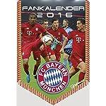 FC Bayern München 2016 - Bannerkalender A4 / Fussball Kalender - 21 x 29,7 cm