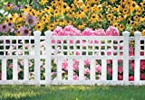 Suncast GVF24 Grand View Fence, White