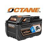 Ridgid 18-Volt OCTANE Bluetooth 9.0 Ah Battery