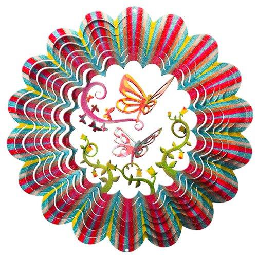 Iron Stop Designer 3D Butterfly Wind Spinner