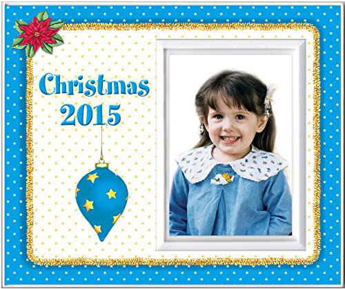 Christmas 2015 Blue - Picture Frame Gift