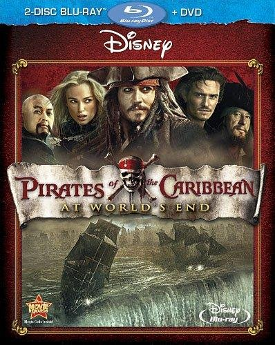 Pirates Of The Caribbean 3 (Blu-Ray+DVD)