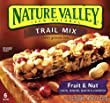 Nature Valley Chewy Trail Mix Bars, Fruit and Nut, 6-Count Boxes (Pack of 12)