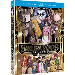 Sakura Wars: Movie [Blu-ray/DVD Combo]