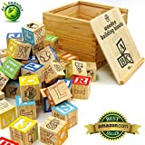 My ABC Blocks™ ✔ 48 Piece ✔ Educational Toy ✔ A Fun Way To Learn Letter, Numbers And Images ✔ Lightweight ✔ Solid...