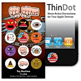 ThinDot Home Button Stickers for iPod/iPhone/iPad - Toy Machine
