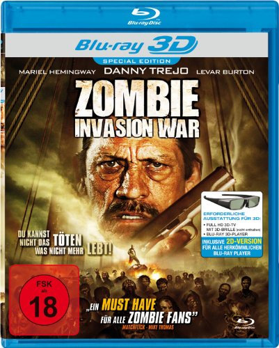 Zombie Invasion War [3D Blu-ray] [Special Edition]