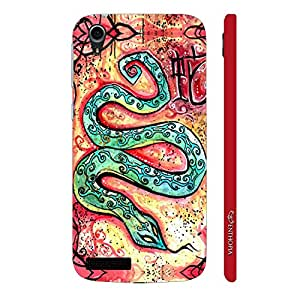Enthopia Designer Hardshell Case CHINESE ZODIAC SNAKE Back Cover for Lenovo A3900
